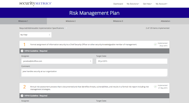 HIPAA Risk Management Plan Software