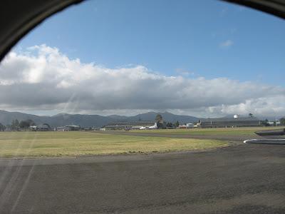 Blenheim airport