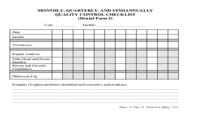 example of checklist forms