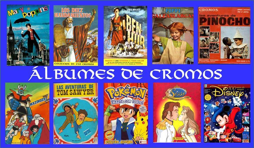 Álbumes de cromos