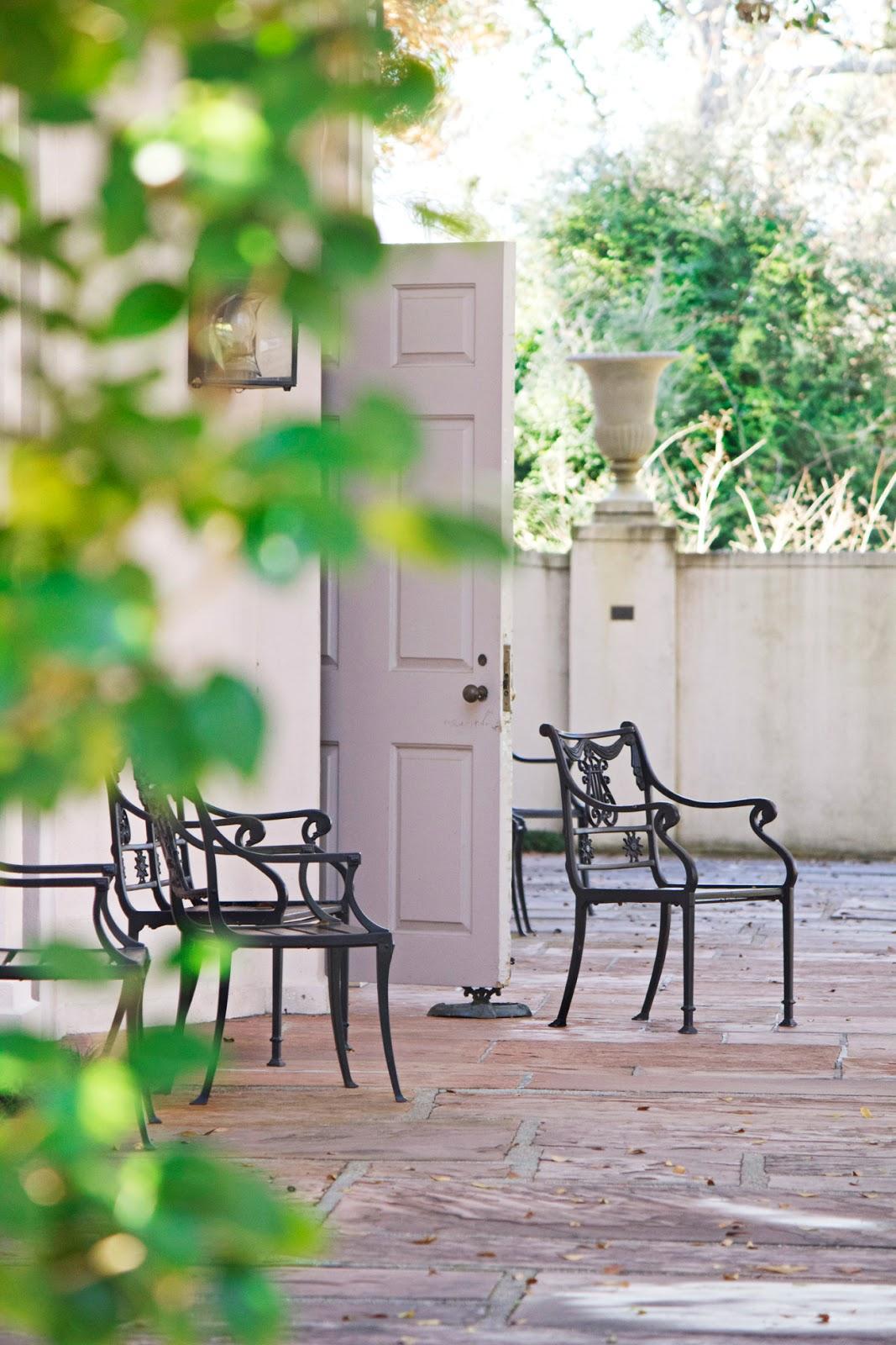 mediterranean mansion door - photo copyright Allison Beth Cooling