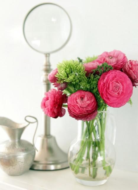 Cắm hoa trang trí phòng khách 13