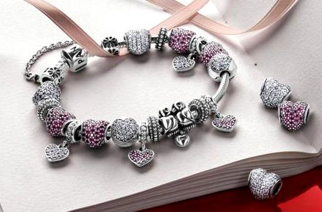 PANDORA Valentineu0027s Day Charm Bracelet Collection