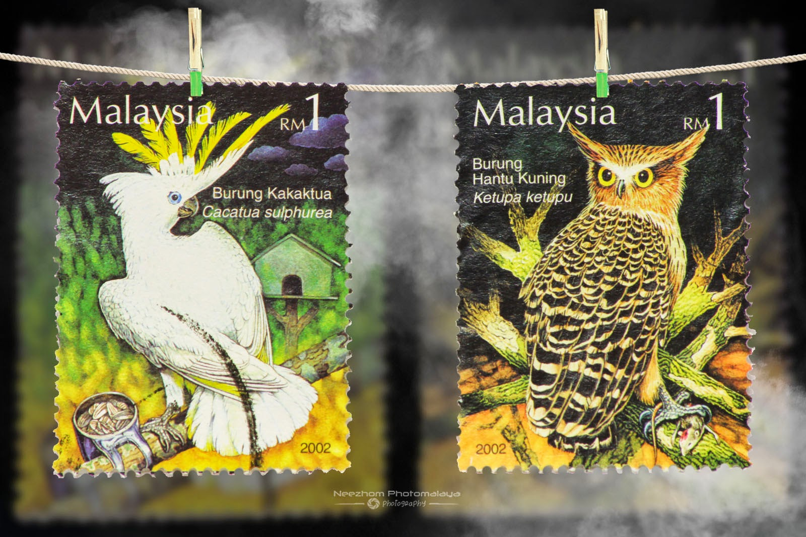 Malaysia 2002 The Tame and The Wild stamps
