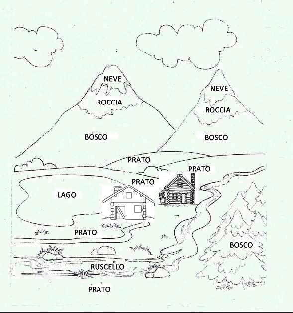 Studiamando liberamente la montagna e le alpi italiane - Immagini da colorare delle montagne ...