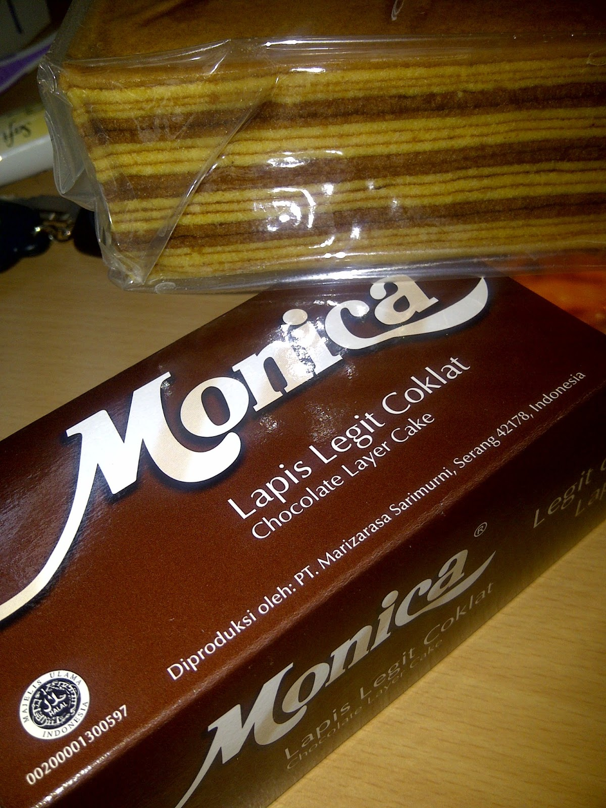 Monica Chocolate Layer...