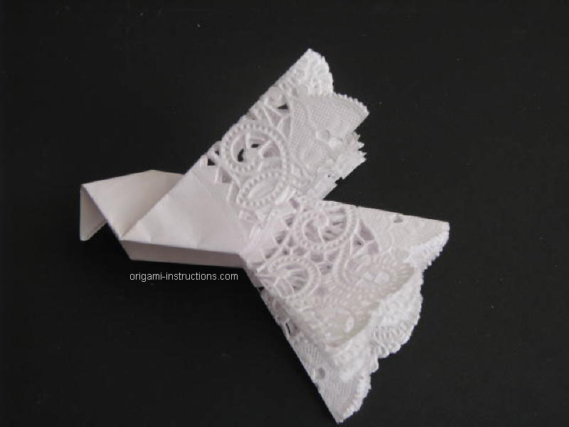 how to make a paper dove origami