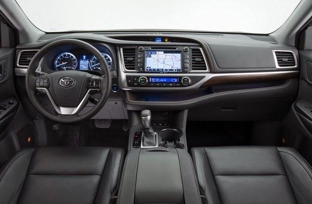2016 Toyota Alphard Interior