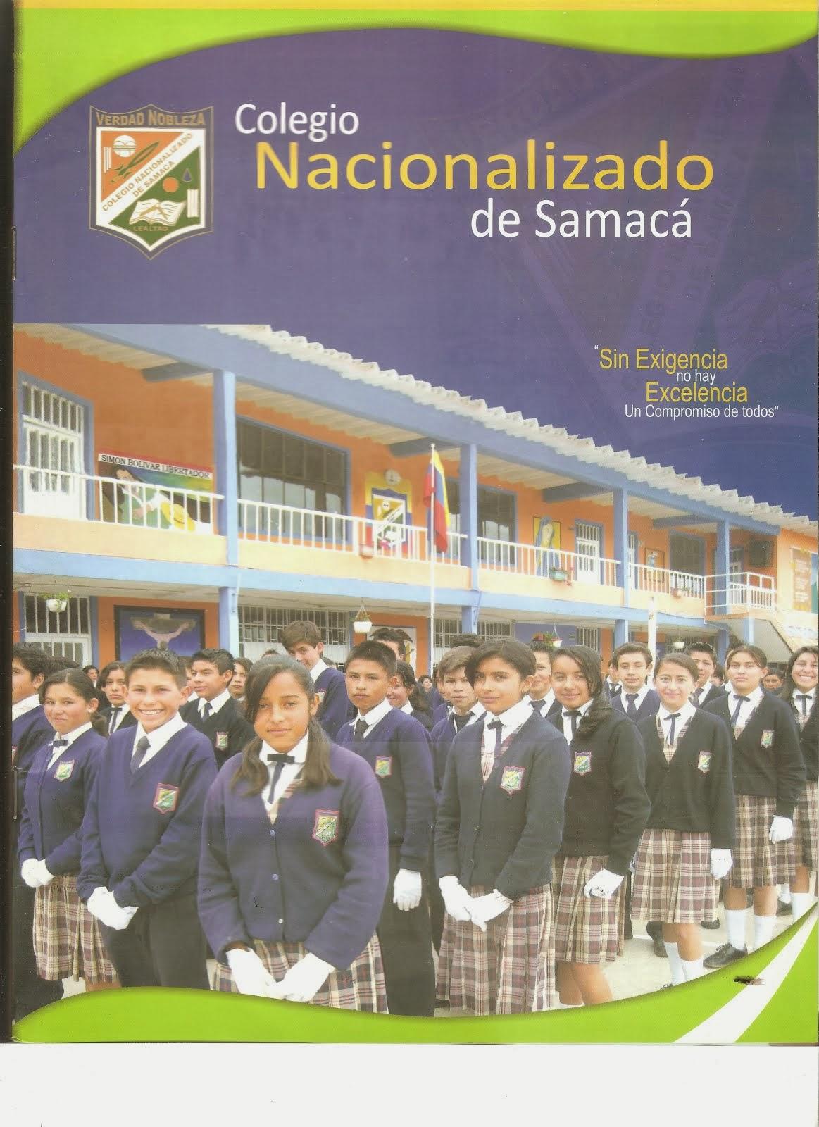 FELIZ ANIVERSARIO      INSTITUCIÓN EDUCATIVA TÉCNICA NACIONALIZADA DE SAMACÁ    48 AÑOS