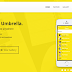 Umbrella App Landing Page Template