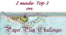 In de top 3 bij Paperplay Challenges