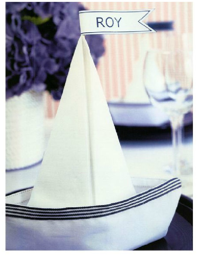 ideas para la mesa como doblar servilletas 1