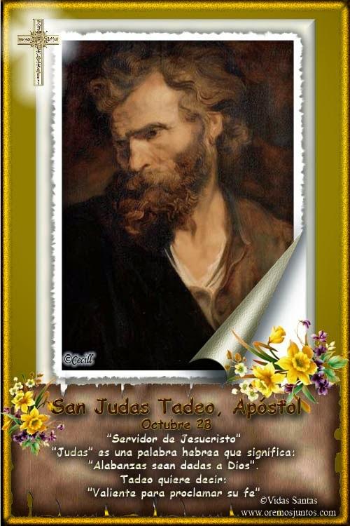 San judas tadeo y su fidelidad a la misi 243 n