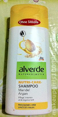 Alverde Shampoo Nutri-care Mandel Argan
