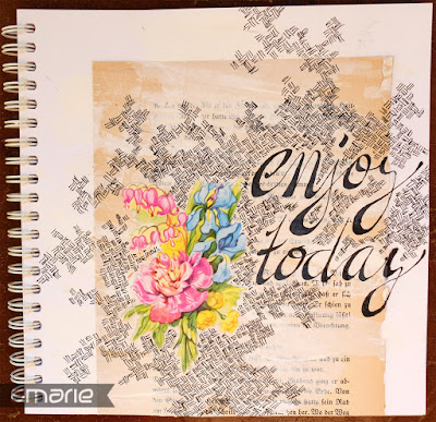 einfach amarie - enjoy today art journling