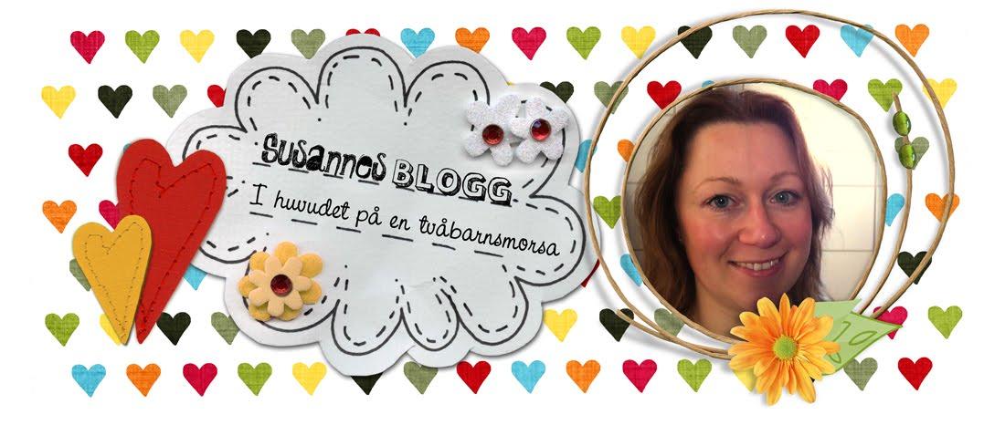 Susannes blogg - i huvudet på en tvåbarnsmamma