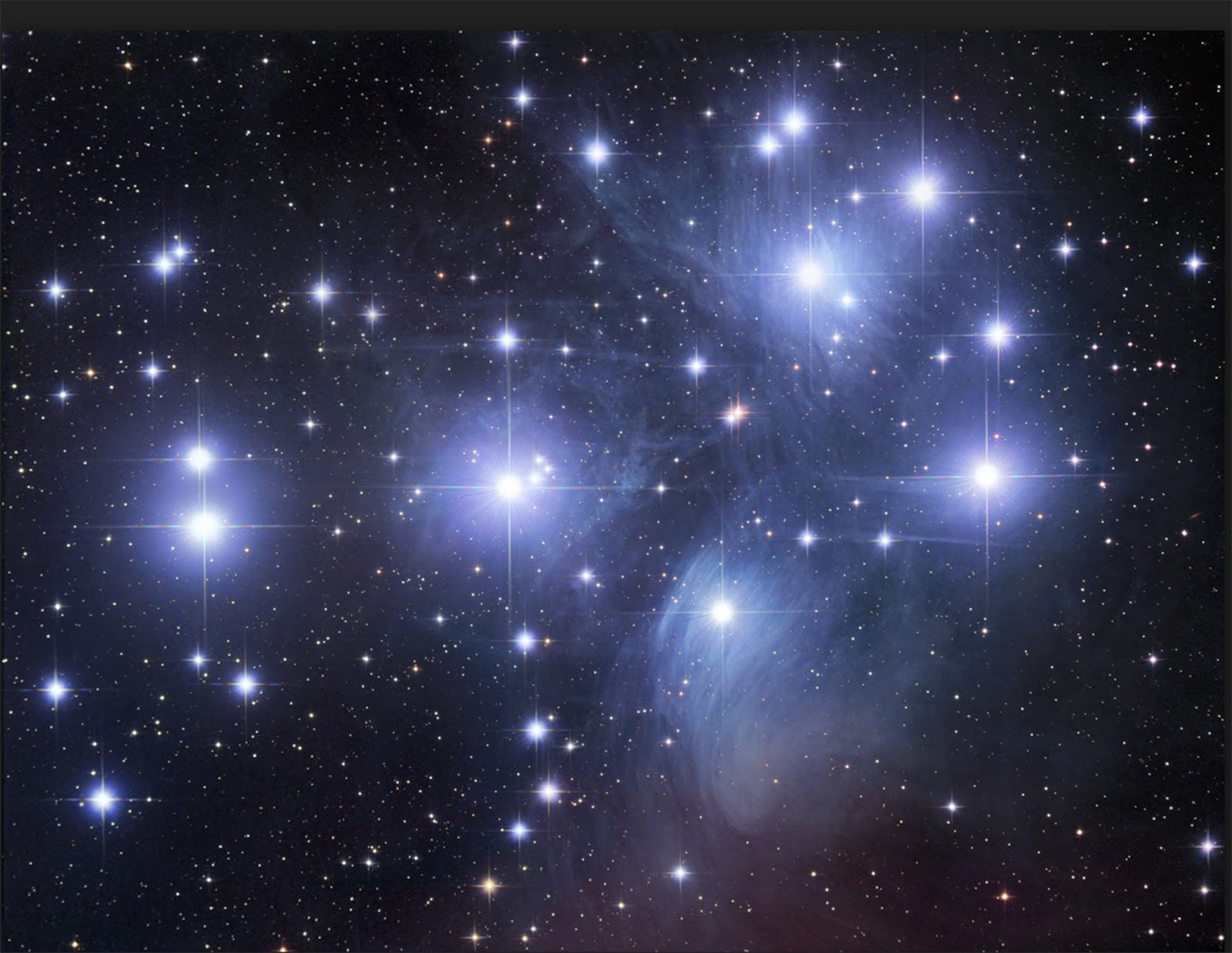 Cantas estrelas na Big Dipper