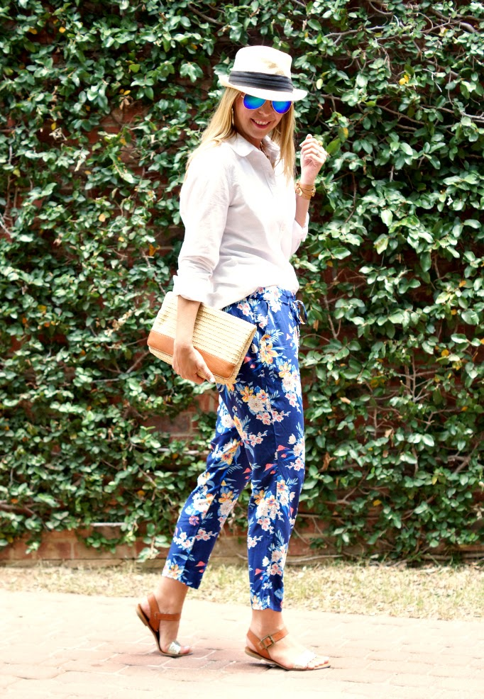Old Navy Floral Pants