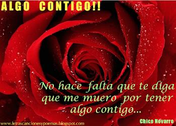 ALGO CONTIGO (Chico Novarro)