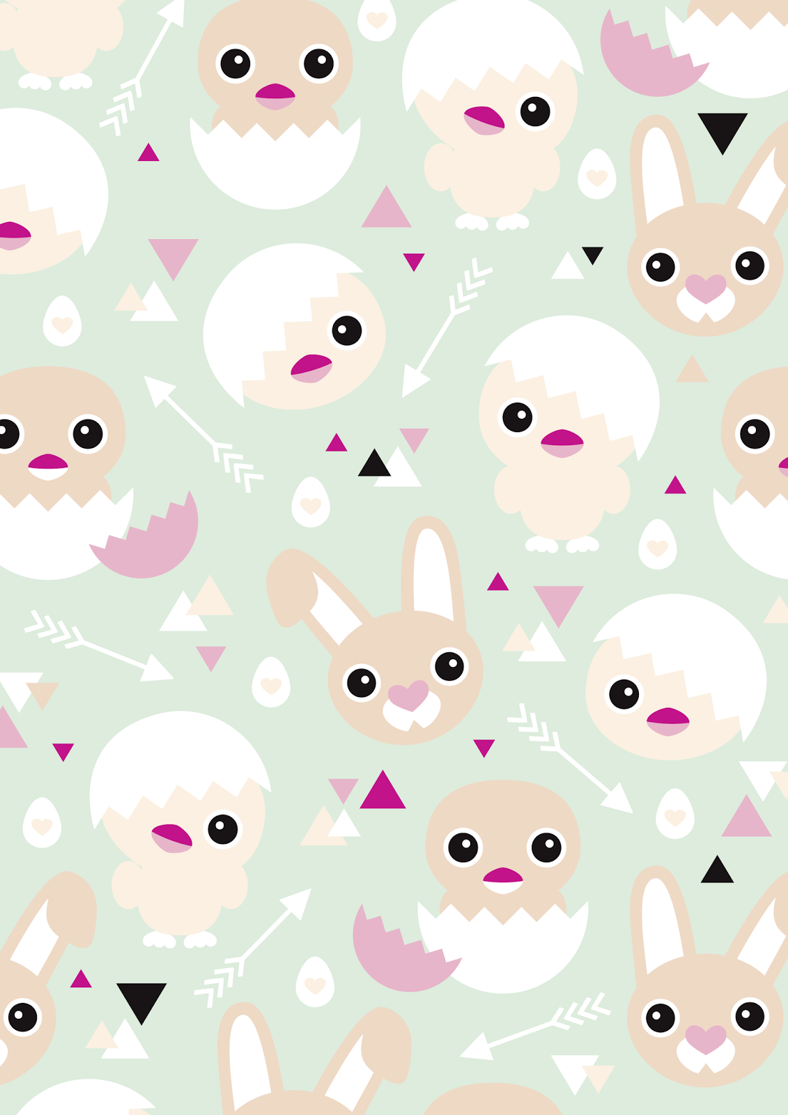 Bunny Patterns Printables Magnificent Inspiration