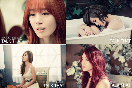 SECRET Talk That MV Teaser