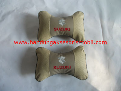 Bantal Kulit Suzuki Cream (Per 2 Pcs)