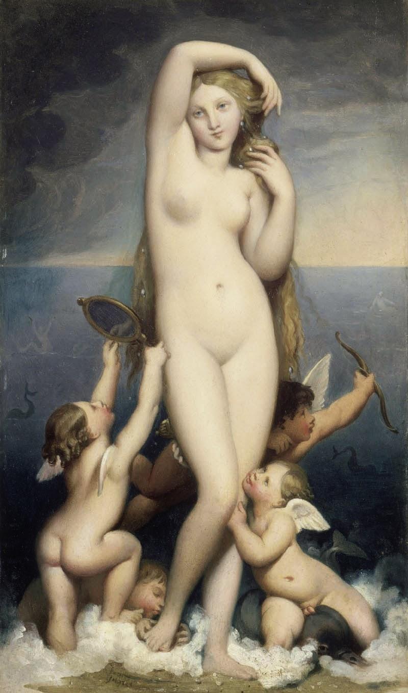 Dominique Ingres, Venus Anadyomène (1825-1850)