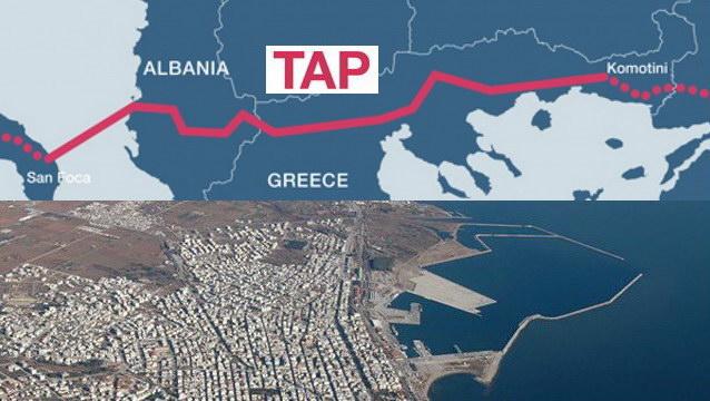 Ο αγωγός TAP και η νέα ΤΑΠΑ για το λιμάνι της Αλεξανδρούπολης