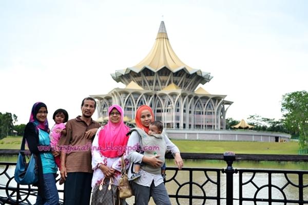 Percutian Keluarga Kuching Sarawak Part Syarafina