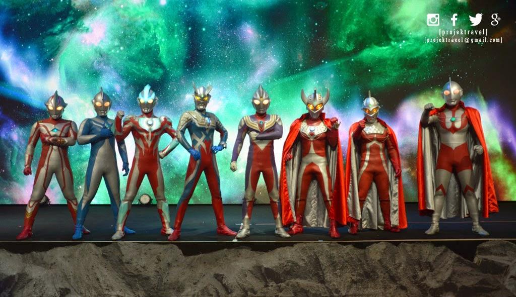 Watak-watak Ultraman yang bakal korang jumpa di Genting