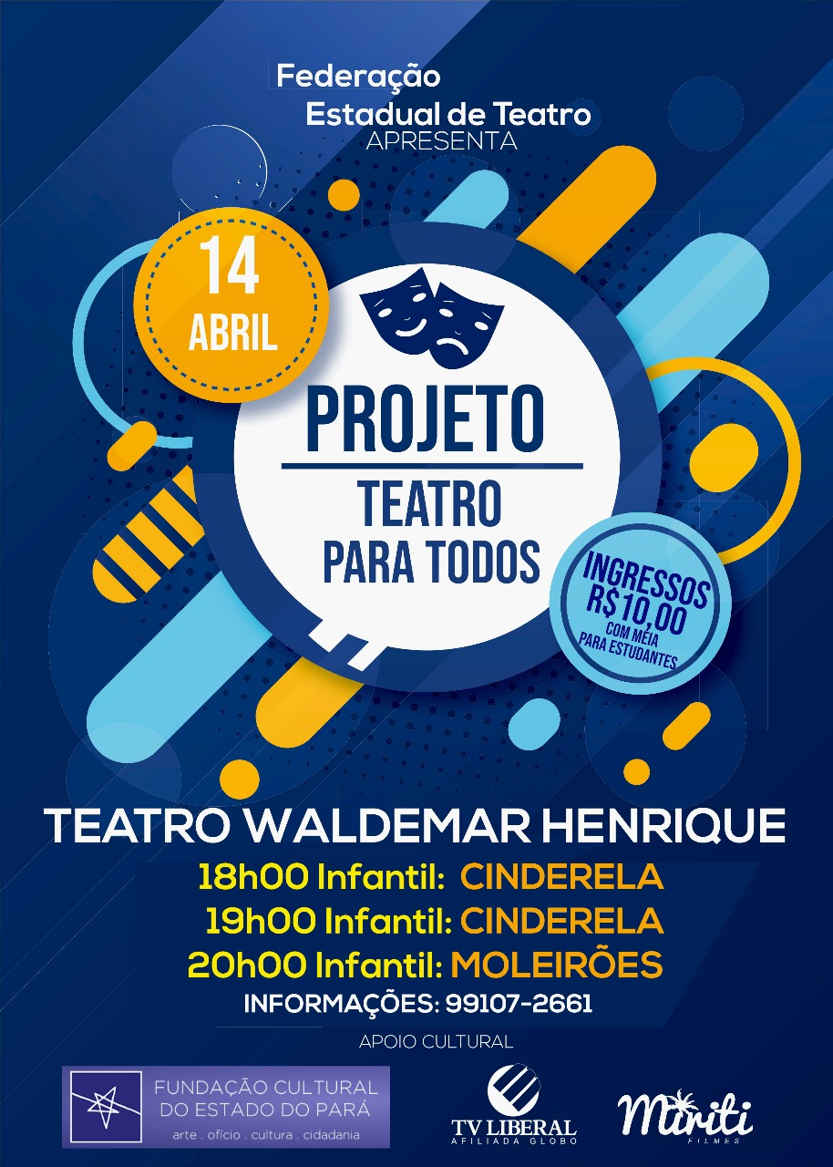 Teatro para Todos - Abril 2018