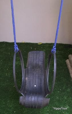 Tyre Swing Bucket