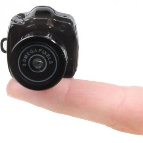 World's Smallest Video Camcorder