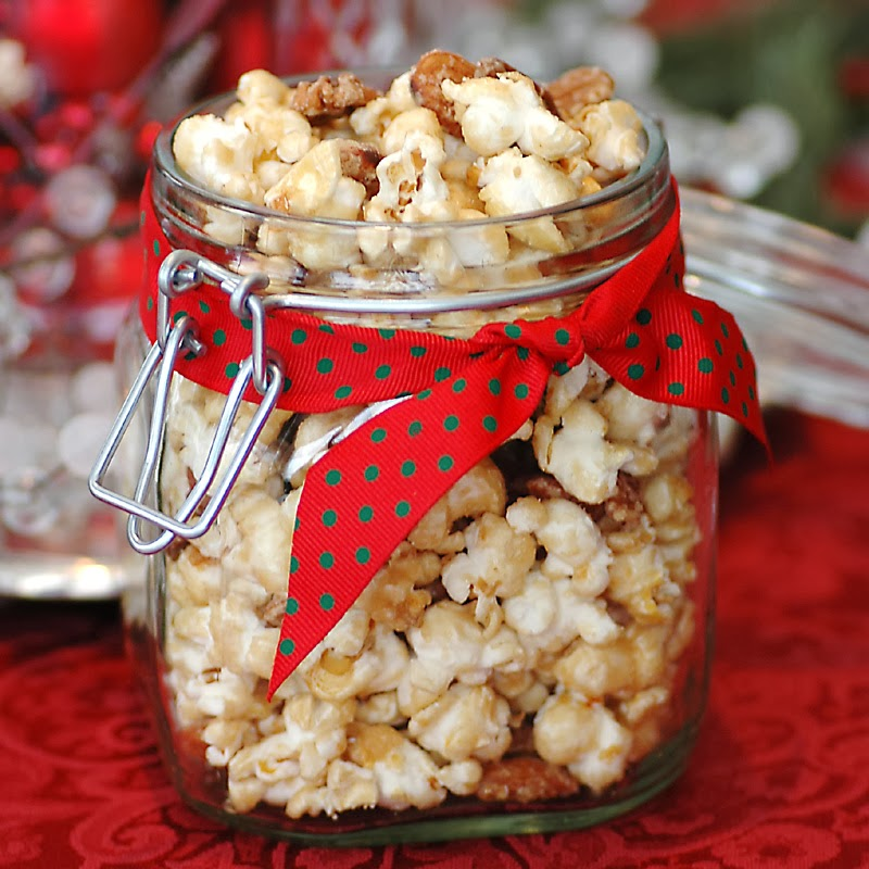 Caramel Popcorn for Holiday Gifting