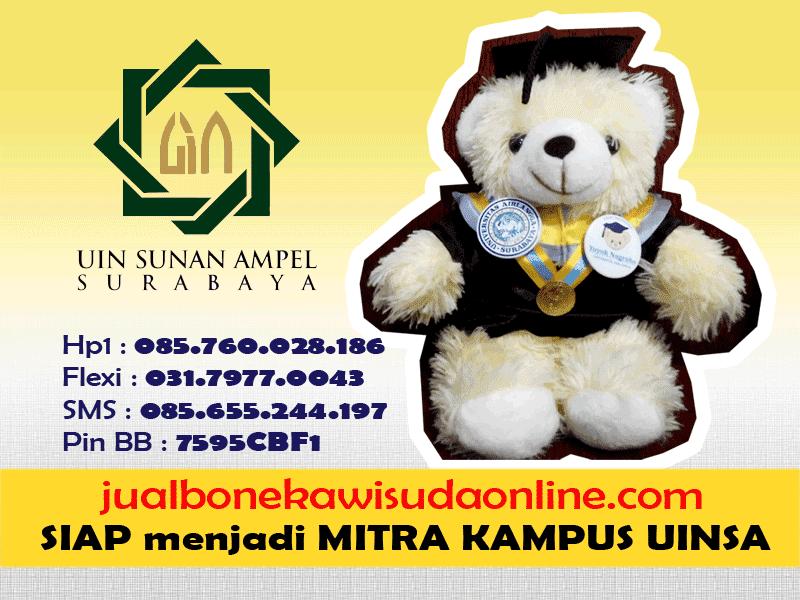 Boneka Wisuda UINSA | Jual Boneka Wisuda Universitas Islam Negeri Sunan Ampel