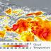 La Romana podría recibir los primeros aguaceros esta noche por paso de onda tropical