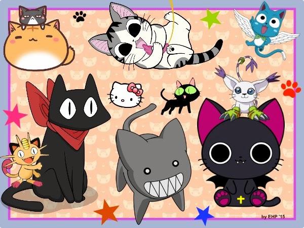 Hay muchos Nekos Anime, pero ¿los recuerdas a todos? Aquí os traigo una buena recopilación para todo el Otaku apasionado por los gatos!!!