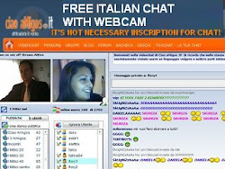 Free Italian Chat with webcams! NO INSCRIPTION,Click imagine and start to chat
