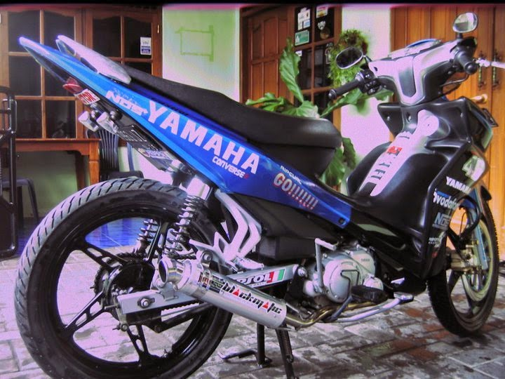 model modifikasi motor yamaha jupiter z