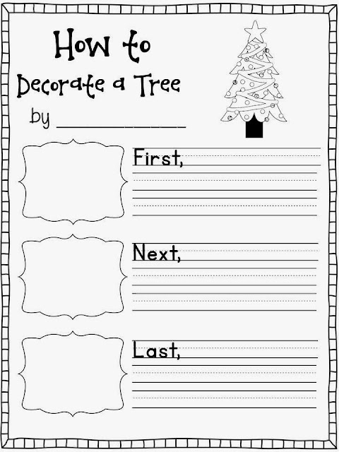 http://www.teacherspayteachers.com/Product/Holiday-How-To-Writing-1012113