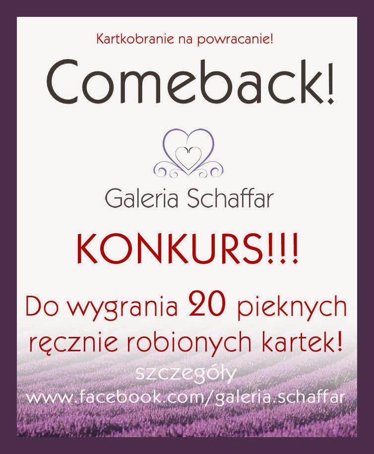 konkursy na facebooku kartki okolicznoścowe wrocław galeria schaffar
