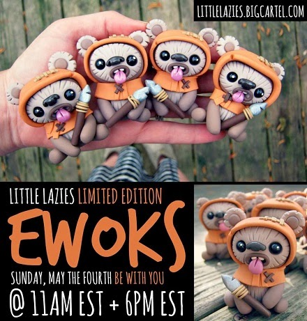 http://littlelazies.bigcartel.com/product/limited-edition-ewoks-by-little-lazies-first-batch-one-per-customer