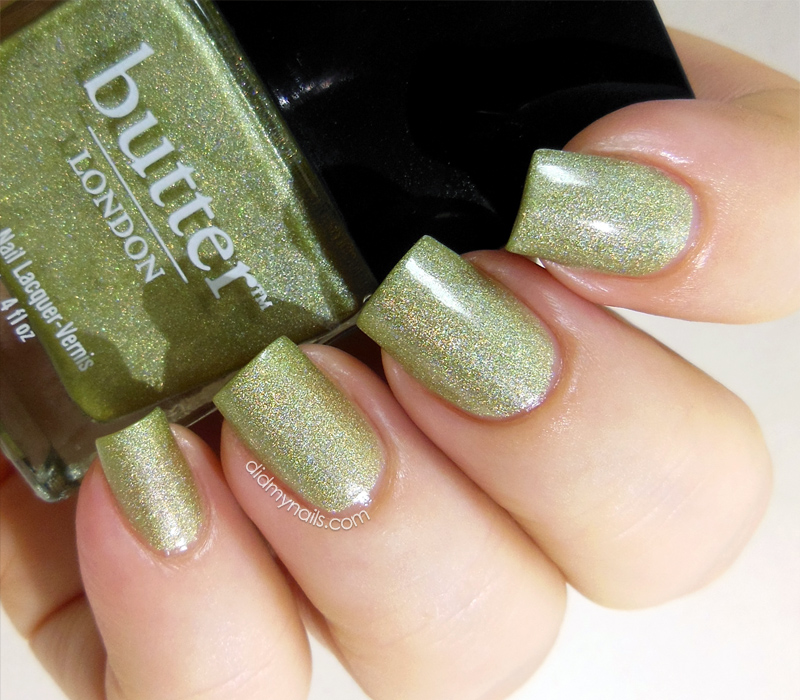 butter london trustafarian swatch