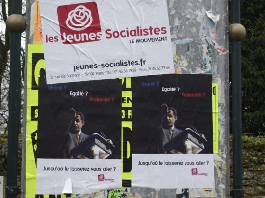 affiche Sarkozy Hitler MJS