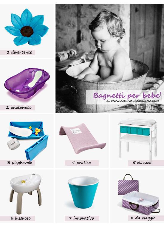 scegliere bagnetto o vaschetta per neonati