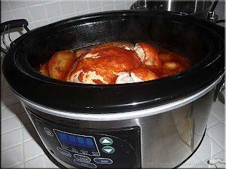 chicken marinara in the slow cooker