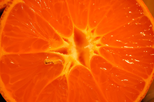 vertical cut orange public domain picture