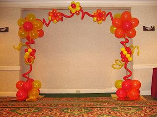 balon gate bunga whit pentil