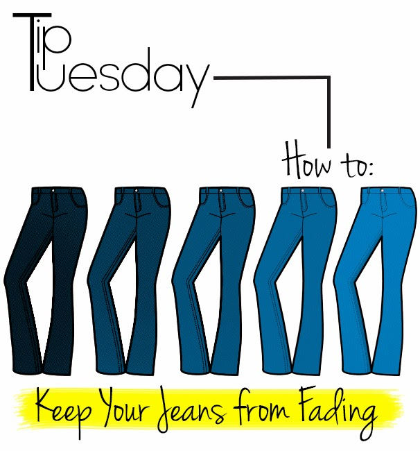 how to keep black jeans from fading in the wash