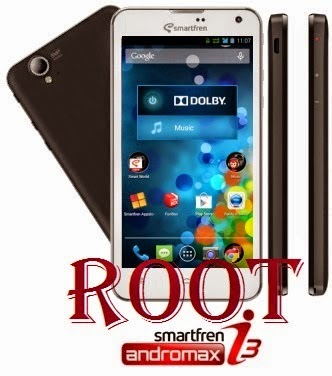 Cara Root Andromax i3 Tanpa PC